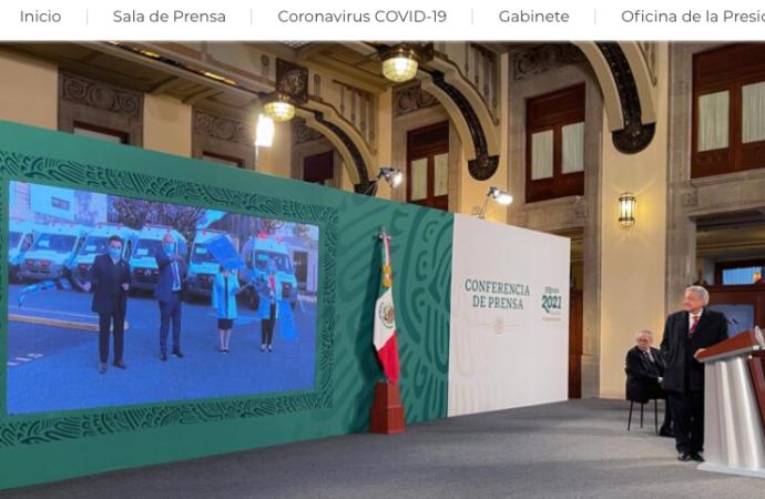 Presentan nuevas ambulancias para IMSS Bienestar adquiridas con salarios y aguinaldos de servidores públicos