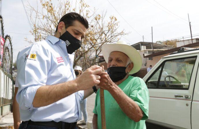 REALIZA PACO CIENFUEGOS PRIMER RECORRIDO Y PACTO DE CAMPAÑA POR LA ALCALDÍA DE MONTERREY