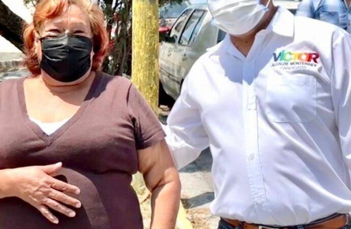 SE COMPROMETE VÍCTOR FUENTES A LIMPIAR EN UN MES EL PONIENTE DE MONTERREY