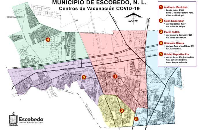 PLAN NACIONAL DE VACUNACION VACUNARÁN EN ESCOBEDO A LOS ADULTOS MAYORES CONTRA EL COVID-19