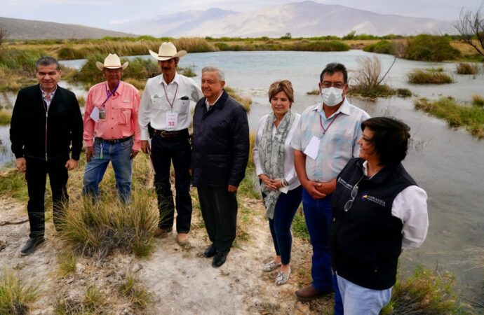 AVANZA RESCATE DE HUMEDALES Y RECUPERACIÓN DE AGUA EN CUATRO CIÉNEGAS, COAHUILA