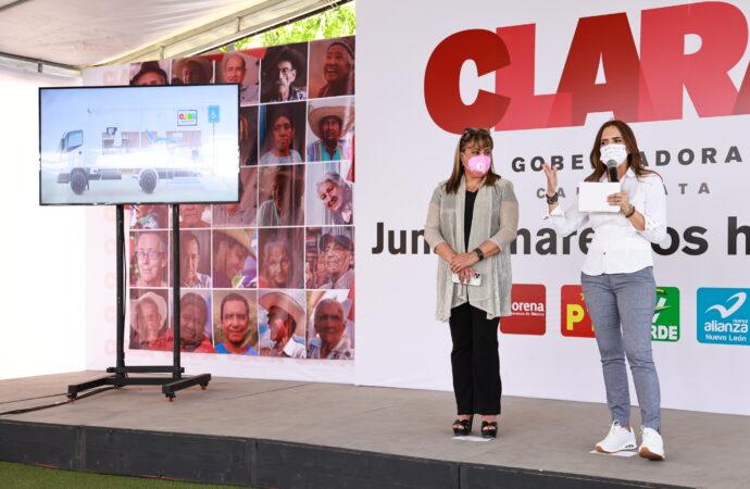 PROTEGERÁ CLARA LUZ A ADULTOS MAYORES CON CENTRO GERIÁTRICO, MÉDICO EN CASA Y BOLSA DE EMPLEO