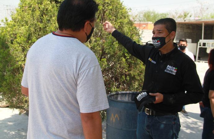 INCREMENTARÁ PACO TREVIÑO VIGILANCIA POLICIACA EN JUÁREZ