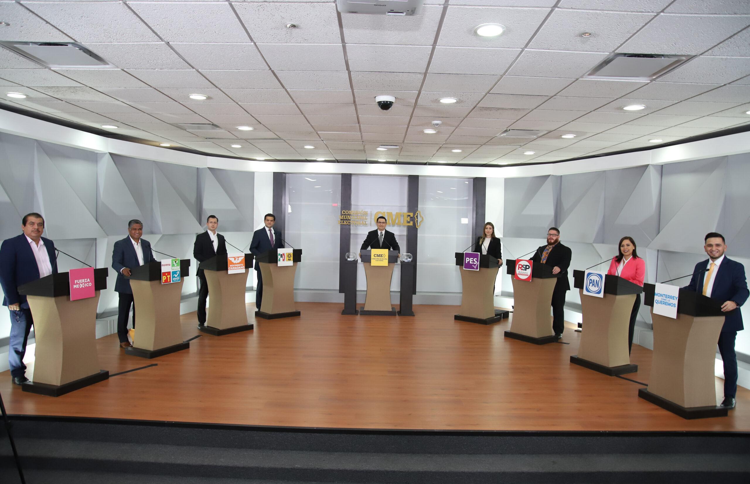 CONFRONTAN PROPUESTAS ASPIRANTES A ALCALDÍA DE MONTERREY