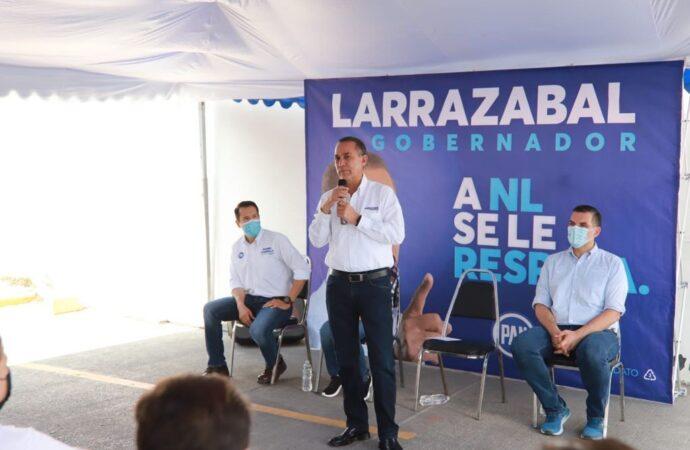 FIRMA LARRAZABAL COMPROMISO 80 PARA SOLUCIONES PLUVIALES EN EL ÁREA METROPOLITANA DE MONTERREY