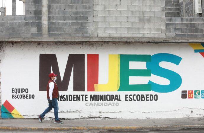SUMA MIJES 100 COLONIAS VISITADAS  DURANTE RECORRIDOS