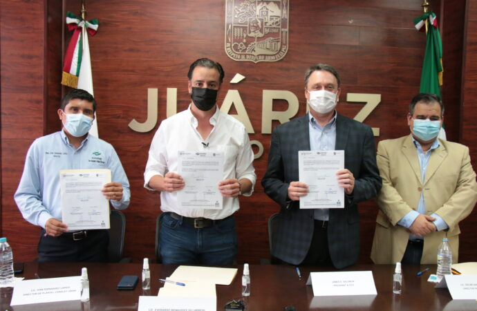 REALIZA GOBIERNO MUNICIPAL DE JUÁREZ FIRMA DE CONVENIO DE COLABORACIÓN ENTRE LA EMPRESA SUMITOMO E INSTITUCIONES EDUCATIVAS