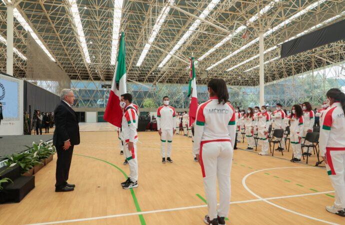 PRESIDENTE DESEA ÉXITO A LA DELEGACIÓN MEXICANA EN JUEGOS OLÍMPICOS DE TOKIO