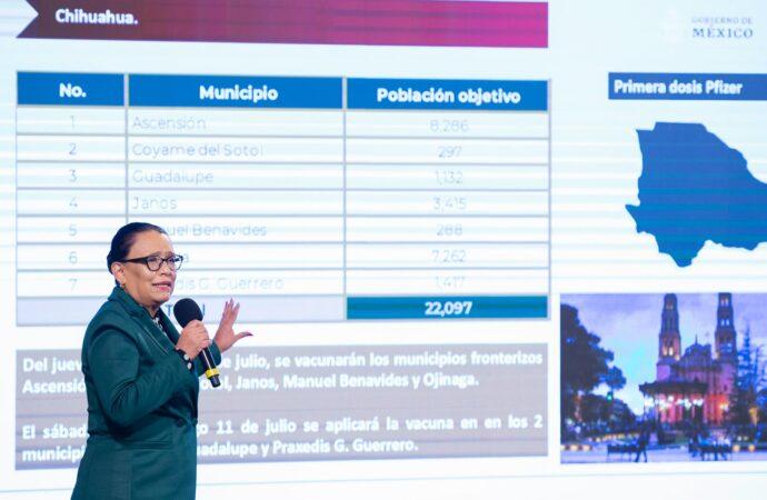 VACUNACIÓN CONTRA COVID-19 EN LA FRONTERA NORTE REGISTRA AVANCE DEL 51.03 POR CIENTO